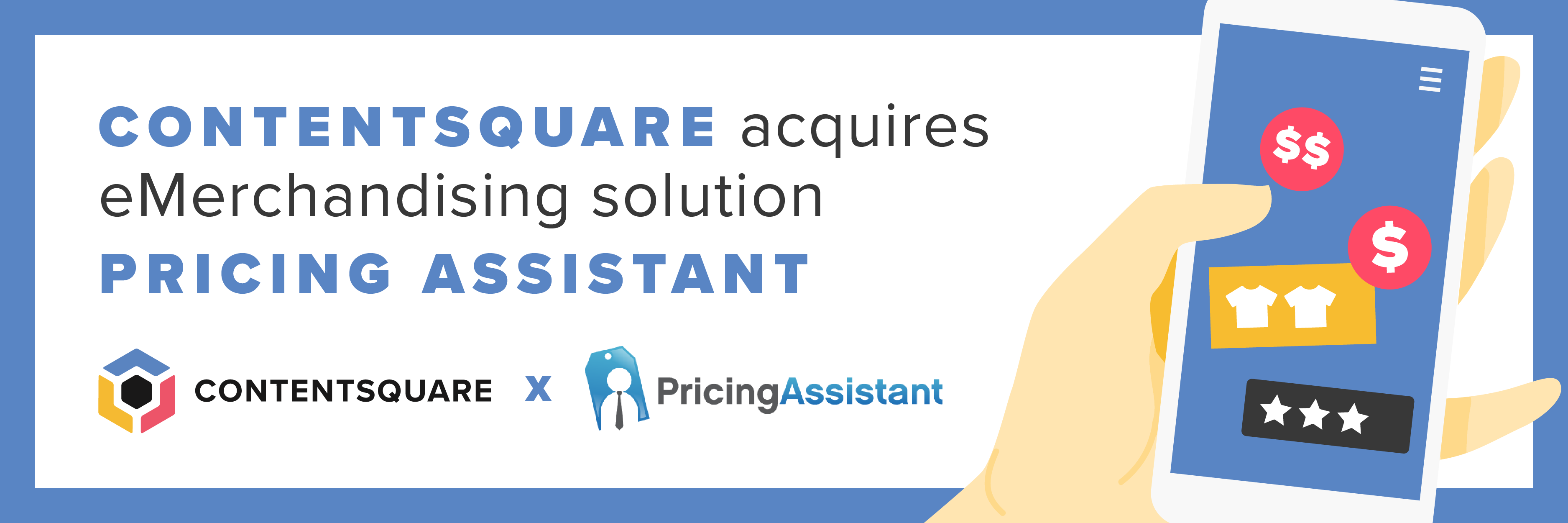 Contentsquare acquires Pricing Assistant